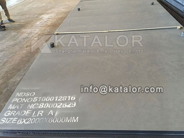 LR A steel plates for Qatar