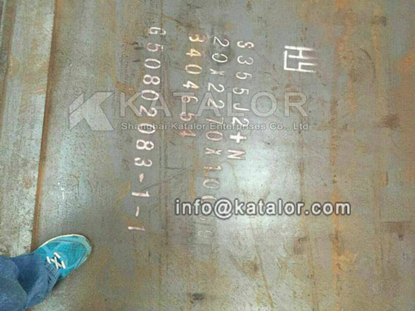 S355J2+N low-alloy high strength steel plates for Mexico