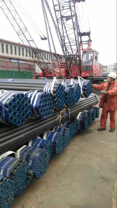 ASME SA210C steel pipe for bolier