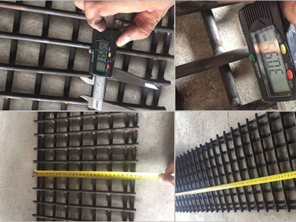 300 pcs as trial order GCr15 Screen Mesh to US
