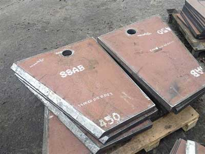 RADEX 500 wear-resistant steel plate