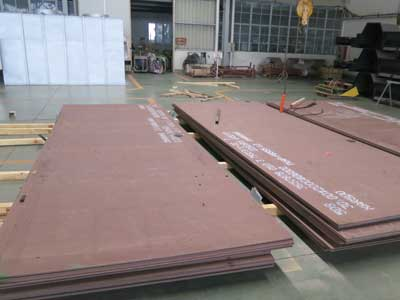 Quard 400 wear-resistant steel plate